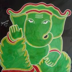 Ganesha size - 22x28In - 22x28