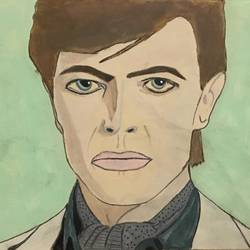 David Bowie  size - 10x7In - 10x7