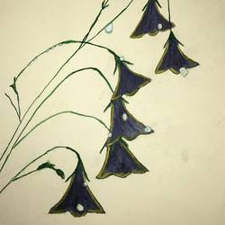 Bell Flower size - 7x10In - 7x10