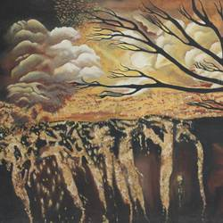 nature night view size - 24x15In - 24x15