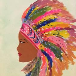 Native Millennial size - 12x16In - 12x16