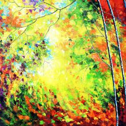 Colours of Autumn Replica size - 36x28In - 36x28