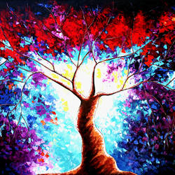 Tree of Life IV Replica size - 72x48In - 72x48