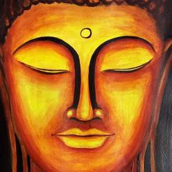 Gautama Buddha size - 11x13In - 11x13