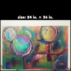 abstract -1 size - 36x24In - 36x24