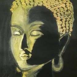 Buddha size - 11x14.5In - 11x14.5