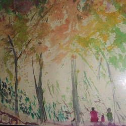 Forest size - 8x11In - 8x11