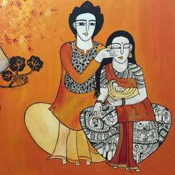 Eternal love of parents  size - 48x36In - 48x36