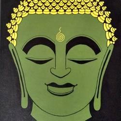 Buddha size - 16x20In - 16x20