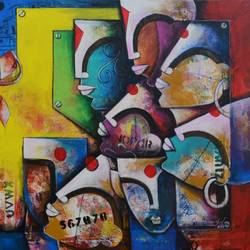 Bonding Of Eternal Love 3 size - 66x30In - 66x30