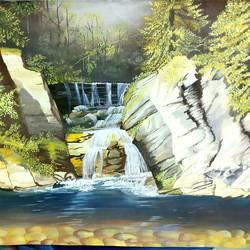 Landdscape postercolour  size - 16.53x23.39In - 16.53x23.39