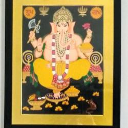 Ganpatiji size - 17x21In - 17x21
