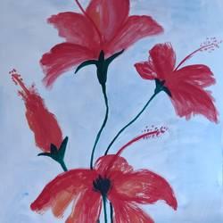 Flower love size - 11x15In - 11x15
