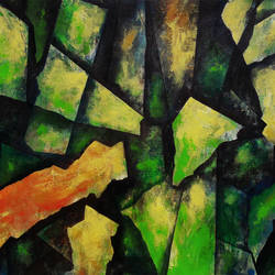 Abstract_P225 size - 46x34In - 46x34