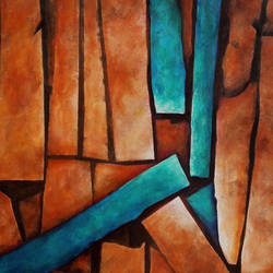 Abstract _P230 size - 34x27In - 34x27