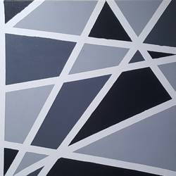 Beauty of grey  size - 24x36In - 24x36