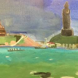 Kanyakumari size - 18x14In - 18x14