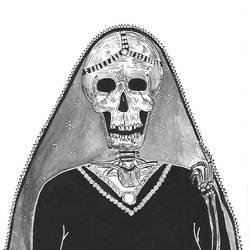 Skeleton Queen size - 4x8.3In - 4x8.3