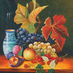 Beautiful Still life 1 size - 24x36In - 24x36