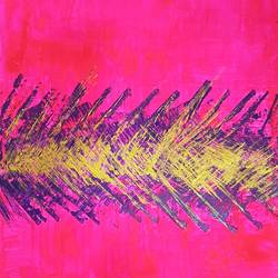 pink abstract size - 20x30In - 20x30
