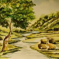 Scenic Landscape size - 11x16In - 11x16