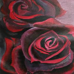Red Roses size - 20x30In - 20x30