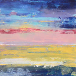 """Sounds of horizon"""", 23""""x23"""" size - 23x23In - 23x23"""