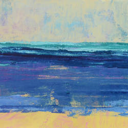 """A seascape, 27""""X20"""" size - 27x20In - 27x20"""