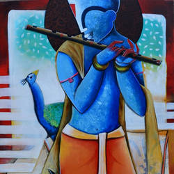 The Mesmerizing Tunes size - 30x48In - 30x48