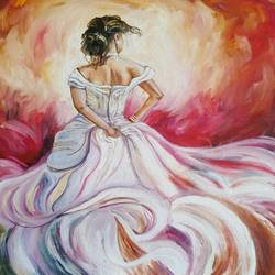 The bride size - 16x20In - 16x20