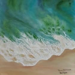Sea Shore  size - 12x18In - 12x18