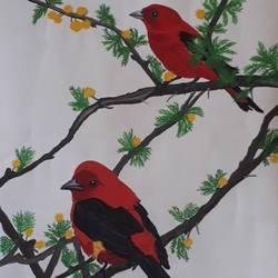 Bird size - 14x22In - 14x22