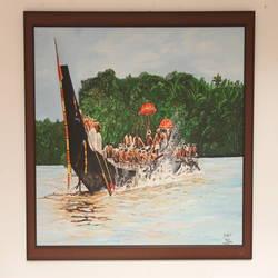 Boat Race size - 40x30In - 40x30