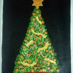 Christmas Tree size - 15x21In - 15x21