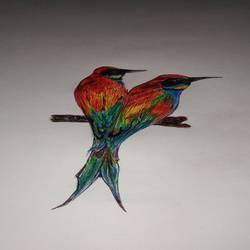 Bird size - 12x8In - 12x8