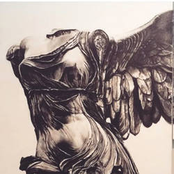 Winged Victory size - 60x48In - 60x48