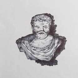 Aristotle  size - 16x13In - 16x13