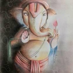Ganesha 1 size - 11x14In - 11x14