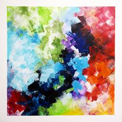 Abstract0011 size - 30x30In - 30x30