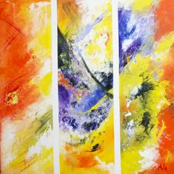 Abstract0013 size - 30x30In - 30x30