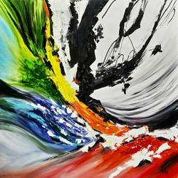 Abstract0014 size - 30x30In - 30x30