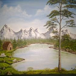 NATURE size - 24x18In - 24x18