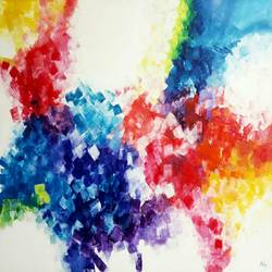 Abstract0021 size - 40x30In - 40x30