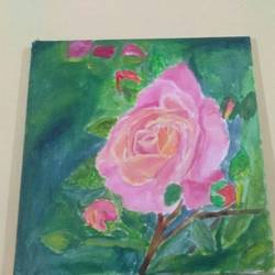 rose beauty size - 12x12In - 12x12