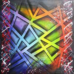 Abstract0025 size - 36x24In - 36x24