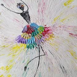 Ballerina size - 12x18In - 12x18