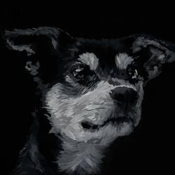 Doggo size - 26x38In - 26x38