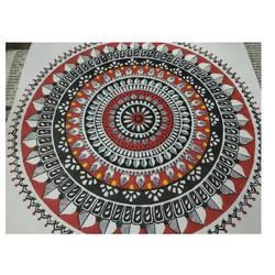 Mandala art size - 10.8x10.8In - 10.8x10.8