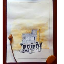 Urban house size - 8x10In - 8x10