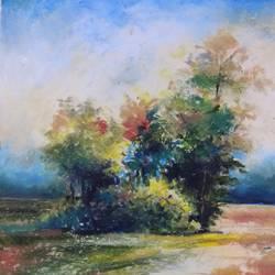 Landscape  size - 18 x24  In - 18 x24